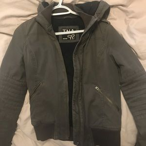 Light Gray TNA Jacket